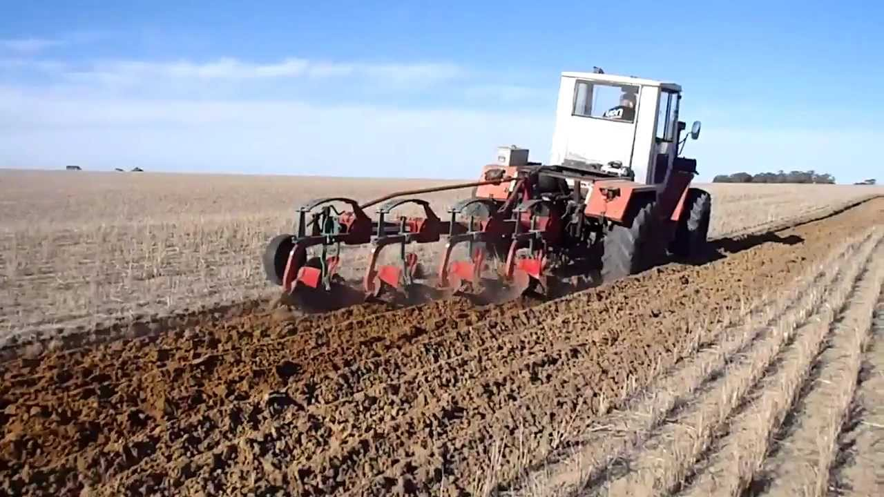 how to plough a paddock
