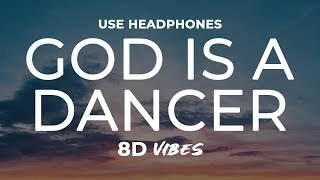 Tiësto, Mabel - God Is A Dancer (8D AUDIO) 🎧 Video