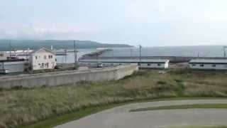 奥尻観光 空港、津波館、うにまる公園、鍋釣岩