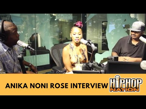 Anika Noni Rose  with Sarge & OQ Talks The  Power,  Nudity, Police Brutality & More!