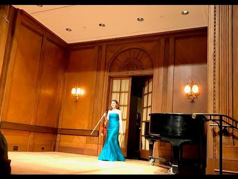 Ania Filochowska Plays Paganini Caprice No.24