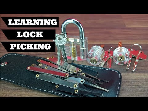 How To Learn Lockpicking With Practice Locks