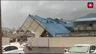 颱風【天鴿】來襲  香港澳門珠海等區域受創
