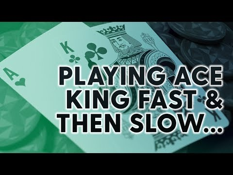 Ace King Played Slow (Then Fast) | SplitSuit