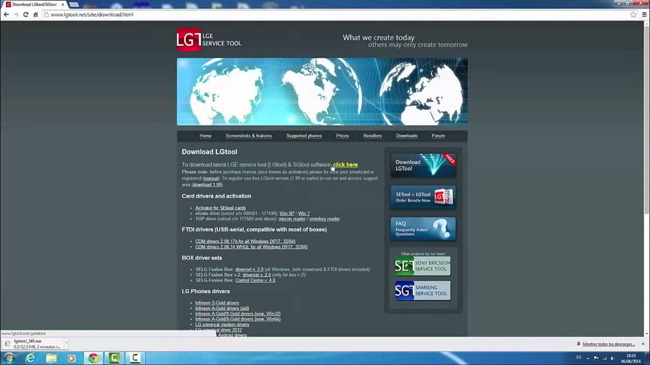 download lgtool version 1.99