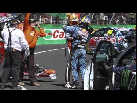 Craig Lowndes & Warren Luff, 2014 Bathurst crash aftermath...