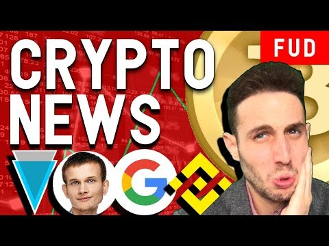 Verge hacked AGAIN? Vitalik Recruited by Google? Bitcoin Bearish, Walmart Blockchain $NAGA $TUSD