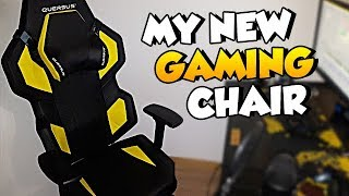 My New Esports Gaming Chair! (Quersus Review)