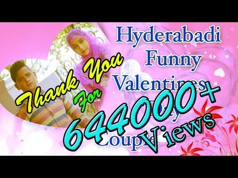 Hyderabadi Funny Valentines Day Couple  Directed By Lateef Prince Hyderabadi Stars