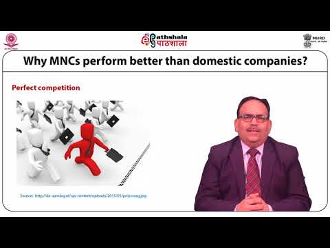 The Concept and Role of Multinational Companies