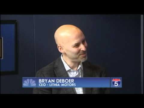 Bryan Deboer Ceo Lithia Motors Feb 27th 2012 Youtube