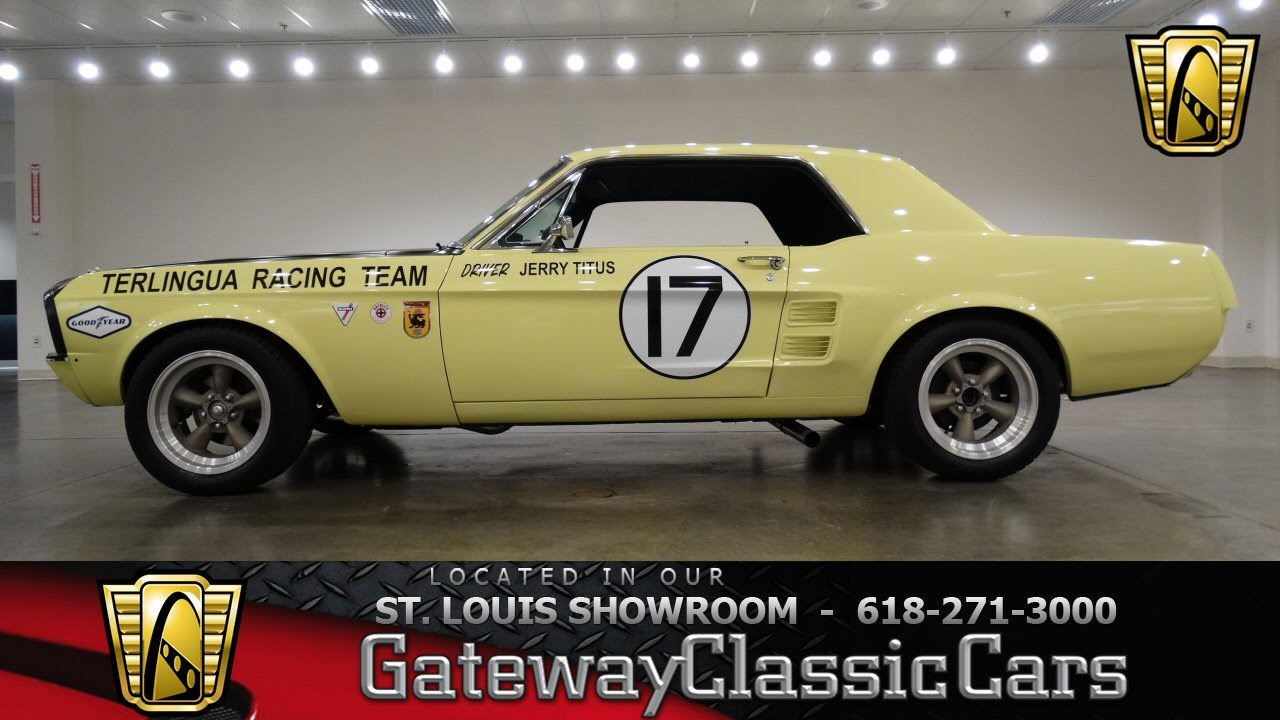 1967 Ford Mustang - Gateway Classic Cars St  Louis - #6476