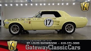 1967 Ford Mustang - Gateway Classic Cars St. Louis - #6476