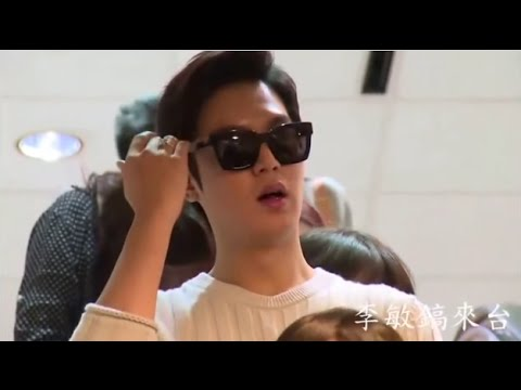 Lee Min Ho meet his fan at Airport