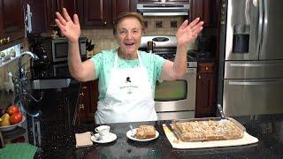 Italian Grandma Makes Zucchini Cake