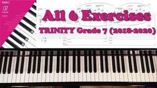 TRINITY Grade 7 Piano (2018-2020): All 6 Exercises