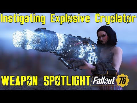 Fallout 76: Weapon Spotlights: Instigating Explosive Cryolator thumbnail