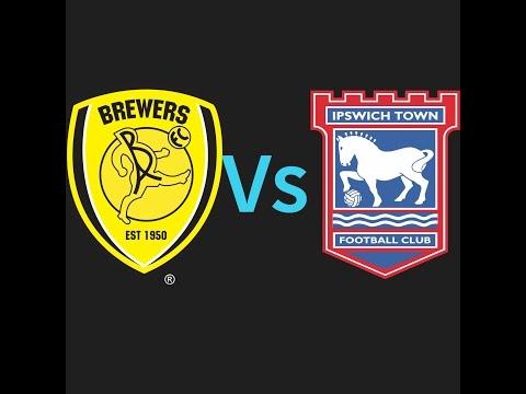 Burton Albion vs Ipswich