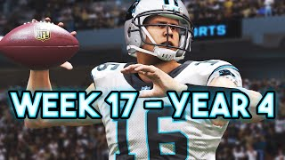 Madden 15 Panthers Connected Franchise - Week 17 @ Saints (Andy Beckwith