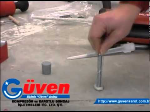 Adana Kimyasal Epoxy ile Rot Ankrajlama 1 - www.guvenkarot.com.tr