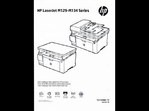 Reparo da página borrada HP M129, M130, M131, M132, M133, M134