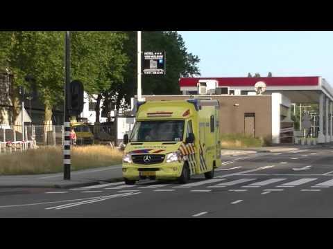A1 ambulance 18-172 erasmus medisch centrum DOCTOR MOLEWATERPLEIN ROTTERDAM