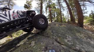 Sherman Pass Trailing with a Axial Jeep Rubicon G-6 8-9-2014