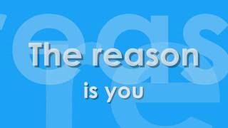 Westlife - The Reason (Lyrics Video) [NEW SONG] Hoobastank Cover