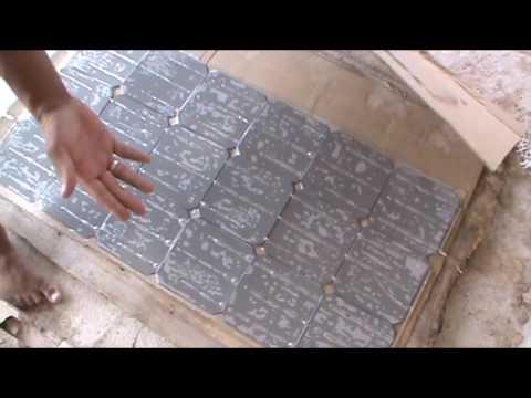 Painel solar caseiro #PARTE 3/4 Montagem passo a passo Homemade Solar Panel -Mount step by step #3