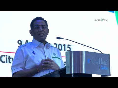 DS Dr. S. Subramaniam speech at MIC Branch Chairmen Convention 2015