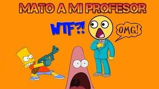 mato a mi profesor - whack the thief part 1
