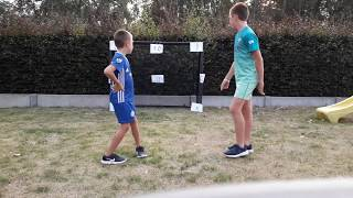 Voetbal challenge