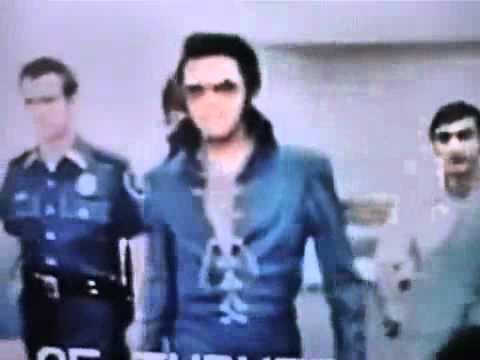Rare Elvis footage Backstage - YouTube