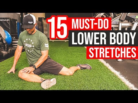 15 MUST DO Lower Body Stretches �� BEST Stretch For Legs