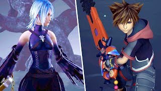 Kingdom Hearts 3 NEW Gameplay - Keyblades, Summons, Aqua Battle And More (TGS 2018)