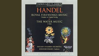 Water Music, Suite In D Major, Alla Hornpipe