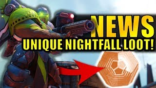 Destiny 2 News: UNIQUE NIGHTFALL LOOT! | New March Update Info!