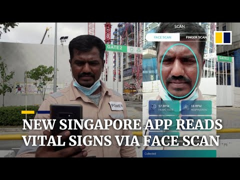 Singapore start-up says app can read vital signs via face scan in 45 seconds