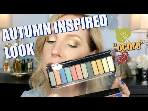 JEWEL TONE SHADOWS FOR FALL! GIVE ME THE OCHRE!