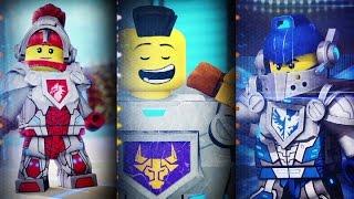 Лего мультик Нексо Найтс.Главные персонажи.Видео для детей.LEGO cartoon Nexo Knights.Детский канал