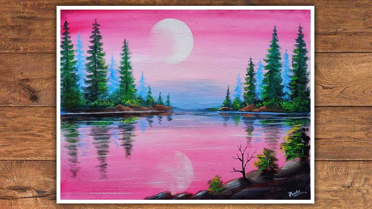 Canvas Painting Landscape