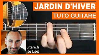 "Henri Salvador ""Jardin d'Hiver"" Tuto Guitare"