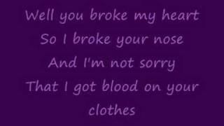 Lovebites- you broke my heart lyrics