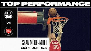 Sean McDermott Drops Season-High 23 PTS in Memphis Hustle Win (March 6)