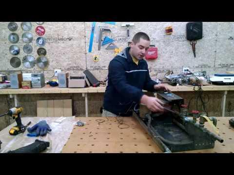 Radiant floor heated garage, Solar Controller