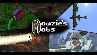 Minecraft PE/BE | UNOFFICIAL Mowzie's Mobs Trailer