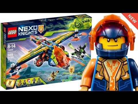 LEGO NEXO KNIGHTS WINTER 2018 SETS IMAGES! New Minifigures & Powers!
