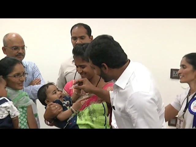 AP CM YS Jagan in Polio Campaign progamme