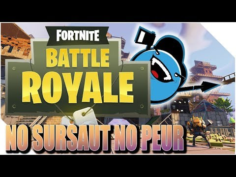 FORTNITE BATTLE ROYAL - J'AI PAS PEUR ! LE SNIPER C'EST FORT. [FR]