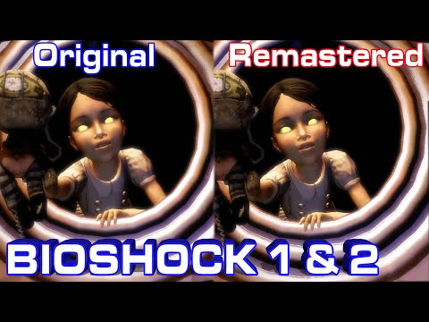 Bioshock Comparison: Original vs. Remastered (The Collection) HD